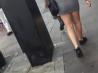 Jiggly goodness 10: two short skirt