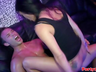 Euro amateur cockriding and sucking