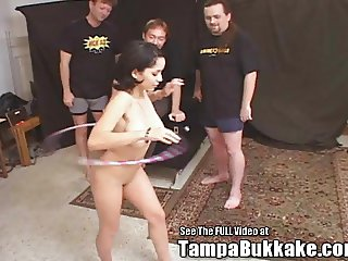Big Tits Teen Latina Group Fuck Bukkake