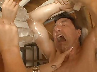 Some Fun In A Big Boobs Oil Orgy