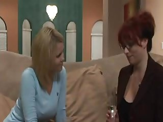 Old and young lesbian Kylie Ireland seduction
