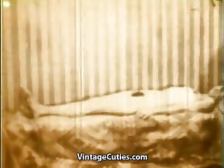 Sexy Maid Stripping for a Raise (1950s Vintage)