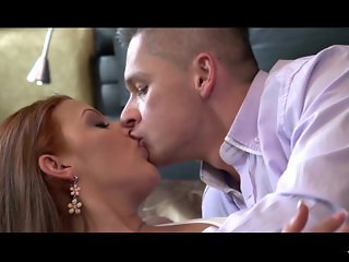 XXXShades - Hot Romanian redhead rides cock passionately in erotic sex