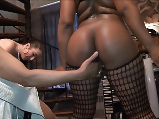 Hot Black-young White fuck old dude-But won't let him cum