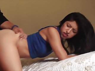 Latin American Girl Giving her Pussy for her Boyfriend