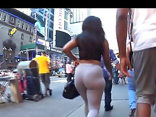 Oh good lord dat ass jiggles wide hips tight pants