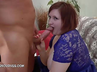 Young Brit Laura Louise fucked by an older guy