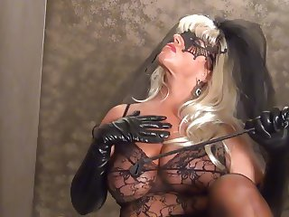 Vampire Bride has an 8 inch Cock For YOU!