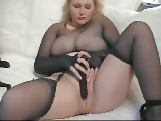 Pantyhose Mature BBW Nylon Encasement Masturbation