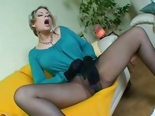 Look at my pantyhose to #1