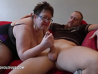 Paul watches as his Granny gets sorted