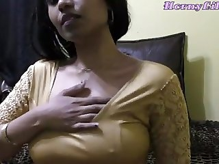 HORNY LILY Indian Bhabhi Diwali Role Play In Hindi