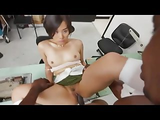 BBC for cute shy Asian Girl
