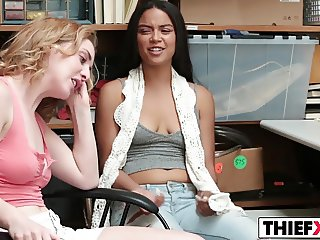 Bonnie Grey And Maya Bijou Get Punished For Theft