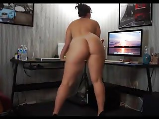 A SUPER SEXY CURVY NAKED  ASS