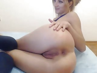 Anal solo show