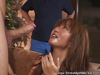 Asian Cheating Housewife Swinger