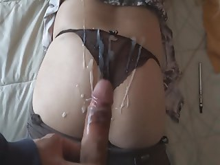 ORGASMS AND MILK FOR MY HOTWIFE - ORGASMOS Y LECHE ESPOSA