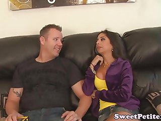 Taboo stepsister orally pleasured by stepbro