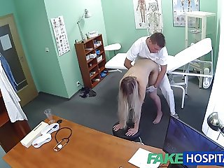 Fake Hospital Doctor finds sexual surprise in patients cunt
