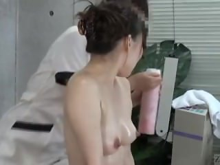 Subtitles CFNF Japanese lesbian vaginal massage