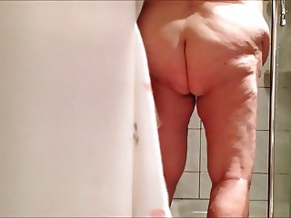 BBW grandma 86 after the shower part 2