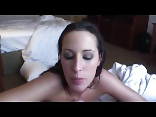 Amateur Blowjob With Swallow Messy Sticky WOW