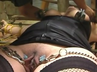 Bdsm punishment in the dungeon