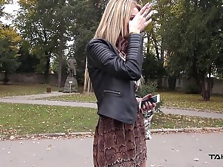 Takevan - Just divorced hottie fuck first stranger she meet