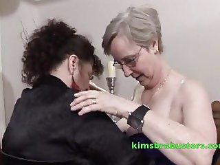 Granny Kims fiddles with a 70yr old
