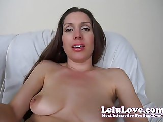 Lelu Love-Giantess Masturbates With Your Tiny Body