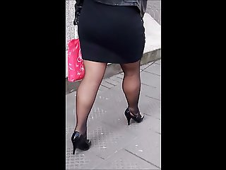 #22 Milf with nice ass and legs in high heels
