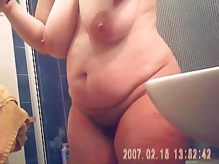 mature with big tits, curvy belly, big ass and hairy pussy 2