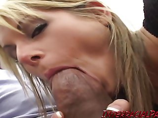 HOT College Chearleader with her first BBC!
