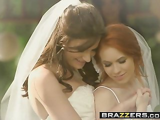 Brazzers - Its A Nice Day For A White Lez Wedding Dolly Litt