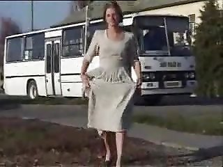 Bus Station Public Piss Slut
