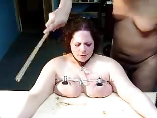 Punished tits