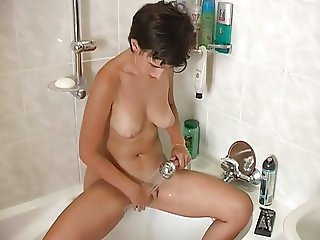 Jitka Blanhova shaves her hairy pussy until  silky smooth