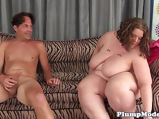 SSBBW ass and pussy fucked in missionary