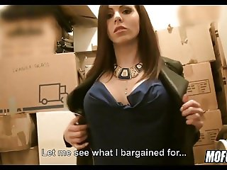 Euro Slut Picked up for Blowjob