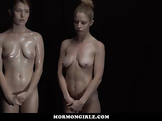 MormonGirls- Teens Punished On The priesthood stretcher