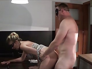 Fuck in the kitchen and the badroom
