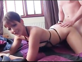 English Escort Takes Cock Bareback & Creampie