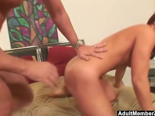 AdultMemberZone – Young Milfs Brittney Miller screwed by a huge cock