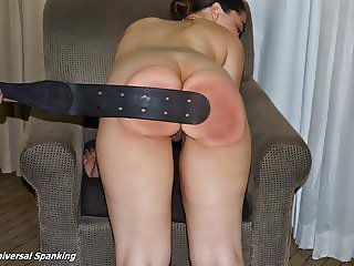 Her Last Spanking at Home