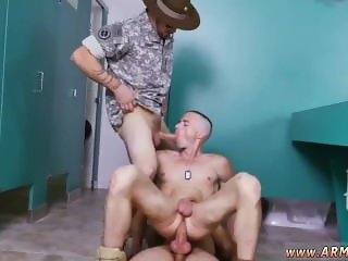 Gay free army hunks movie Good Anal Training