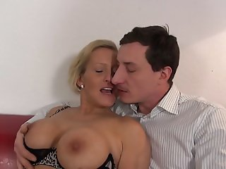 Desperate mothers make sex with lucky sons
