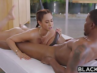 BLACKED Bored Housewife Fucks BBC With Husbands Permission