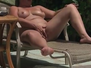 Wife playing with her lovely tits!