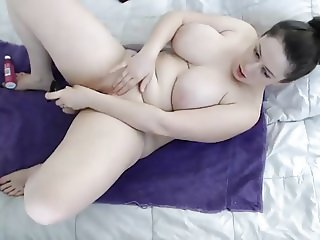 #6 thick big tits busty pale tattoo girl